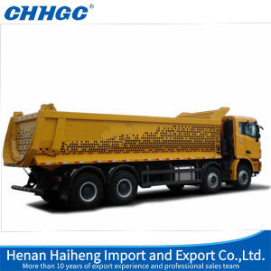 """U""Type Dump Semi Trailer Tipper with Front Lifting Cylinder"