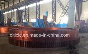 Large Girth Gear Ring Used for Cement Ball Mills pictures & photos