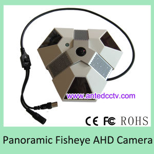 360 Degree Fisheye Ahd CCTV Camera with IR Night Vision pictures & photos