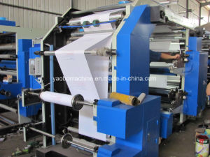 Yb-4600 Flexographic Pinting Machine for Printing Paper