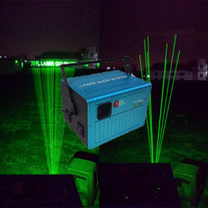 High Power Single Green Landmark Outdoor Laser Light for Super Building