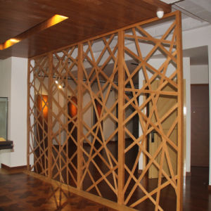 Customized Antique Bamboo Folding Screen pictures & photos