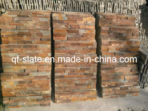 High Quality Rusty/Multicolor/Brown Chiselled Face Wall Cladding Stone