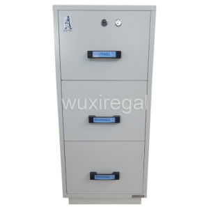 UL Certified Fire-Protection File Cabinet, Fireproof Metal Cabinet (UL750FRD-II-3002) pictures & photos