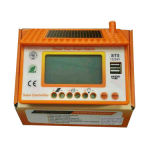 DC12V/24V Solar Controller Orange Color with USB pictures & photos