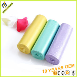 Scent HDPE Can Liner on Roll Trash Waste Bag