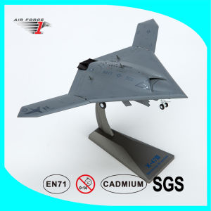 X-47b Pegasus Airplane with Die-Cast Alloy