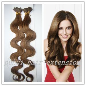 Body Wave Stick Hair Extension/ Keratin I Tip Hair Extensions (K-018)