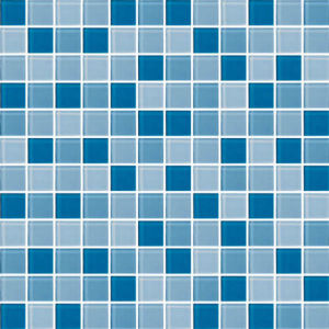 China 300x300mm glazed ceramic mosaic tile for swimming for Pool design pattern