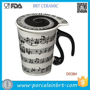 Musical Notes Holds Piano Song Coffee Milk Ceramic Mug pictures & photos