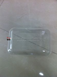Clear Plastic Square Shape Tray