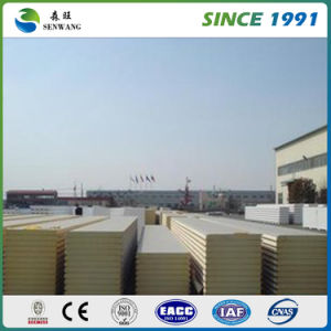High Quality Insulation Rock Wool Sandwich Panel pictures & photos