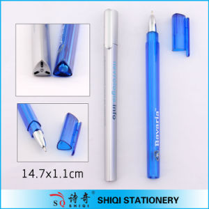 Promotional Item Transparent Triangle Shape Pen