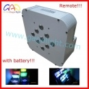 9X15W 5in1 LED PAR Can Disco Light with Battery pictures & photos