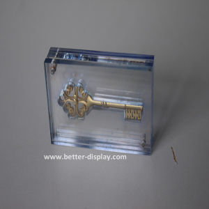 Acrylic Embedment with Souvenir Medal or Photo in Seamless Hot-Pressing Skill (BTR-I8038) pictures & photos