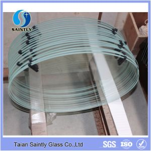 Oval Tempered Glass for Lighting