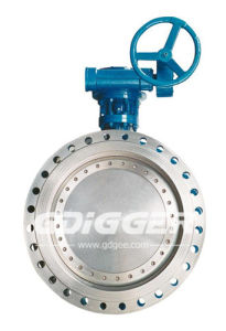 Gas Control Valve Flange Butterfly Valve with High Performance