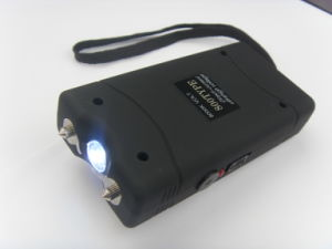 High Power Self Defense Items Police Flashlight Stun Guns