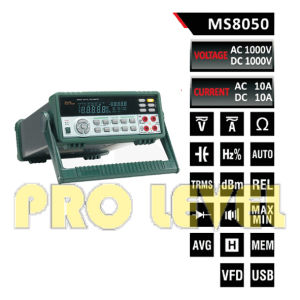 53000 Counts Autoranging Bench Top Multimeter (MS8050) pictures & photos