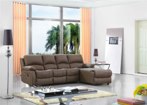 with Leather Sofa Sets Manual Function Furniture for Living Room Used