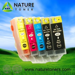 Compatible Ink Cartridge Bci-320bk, Bci-321bk/C/M/Y/Gy for Canon Printer pictures & photos