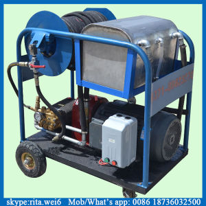 300mm Sewage Pipe Cleaning Machine High Pressure Pipe Cleaner pictures & photos