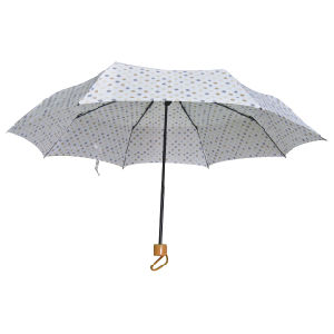 Good Quality Manual Open 3 Fold Umbrella (3FU014) pictures & photos