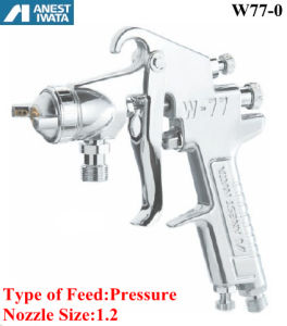 Anest Iwata Air Spray Gun Pressure Feed 1.2 Nozzle pictures & photos