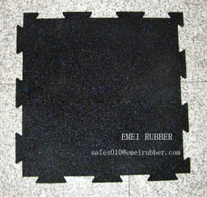 Interlocking Rubber Mat for Gym Sports pictures & photos