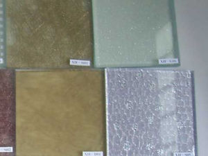 6mm Different and Novel Designed Laminated Glass with Fabric pictures & photos