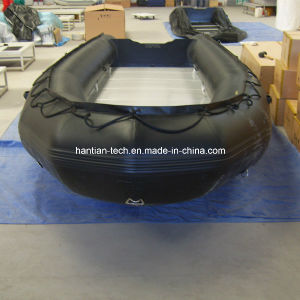 Black PVC Catamaran Boat for Water Sport (SM450) pictures & photos
