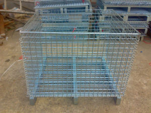 Wire Container/Storage Cage/Mesh Pallet (JW-CN1411413) pictures & photos