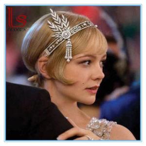 China Gatsby High-Grade Bride Crown Wedding Headband - China Fashion ... ad9fed09065