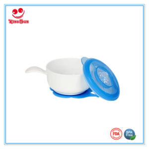 Safety Plastic Baby Bowl with Suction Base pictures & photos