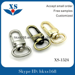 Small Alloy Snap Hook for Handbags