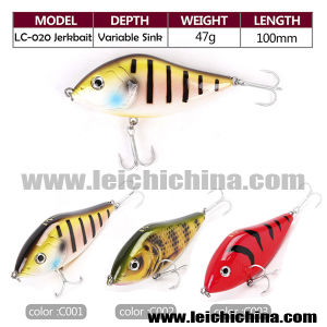 Wholesale 47g 100mm Pencil Bait Fishing Lures Jerkbait Pike Fishing pictures & photos