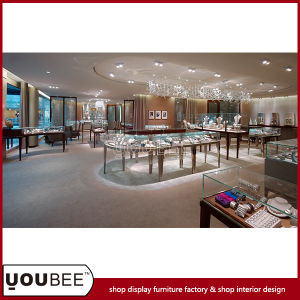 Customize High Quality Jewelry Display Showcases From Factory