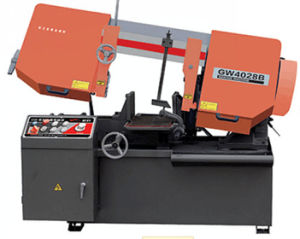 Scissor Horizontal Band Saw Machine (Scissor Bandsaw GW4028B) pictures & photos