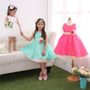 51d7029ca0b China 3 Color Children Ruffled Flower Girl Dress