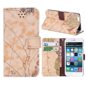 Fashion High Quality Leather Book Wallet Case Cover for iPhone 6