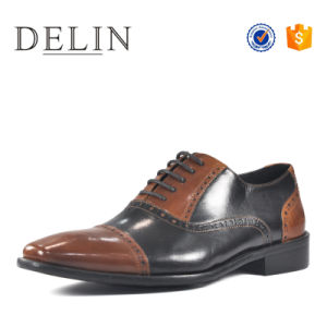 China Different Colour Leather Men Shoes Fashion Footwear - China ...