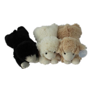 China Soft Shu Velveteen Black Sheep Toy China Plush Toy Plush Animal