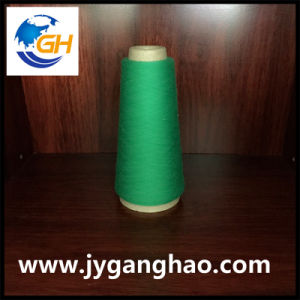 Polyester Spun Yarns in Cyan pictures & photos