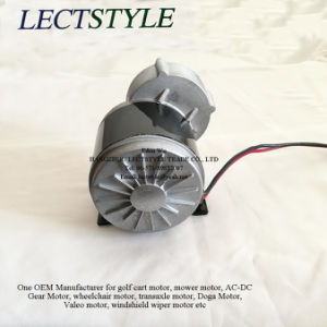 Permanent Magnet Electric DC Motor on Golf Cart & Electric Scooter with 350W 24V DC 350rpm pictures & photos