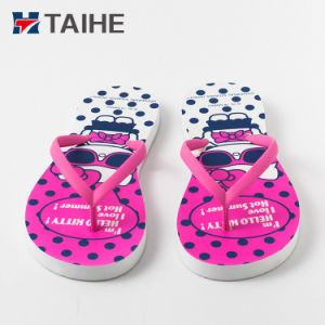 275dabc7e China Summer Beach Custom Printed Foam Kids Sandals EVA Flip Flop ...
