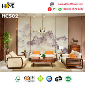 European Home Furniture Living Room Fabric Sofa Set Furniture (HCS02)
