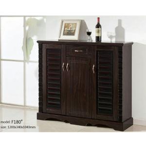 Superbe 3 Doors Wooden Large Long Storage Cabinet Shoe Rack