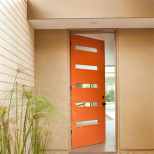Luxury Double Leaf Entrance Wood Door for Villa pictures & photos