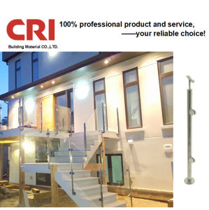China Tempered Glass Good View Roof Deck Railing Design China Balcony Railing Design Stainless Steel Railing