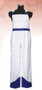 Popular Contrast Color Bib Pants/Work Bib Overall/Mens T/C Work Trousers